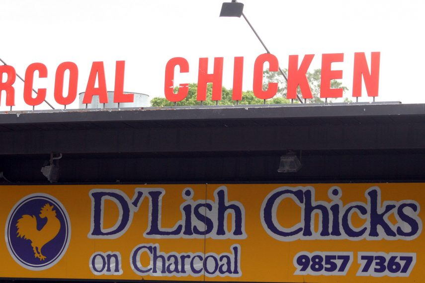 D'Lish Chicks on Charcoal