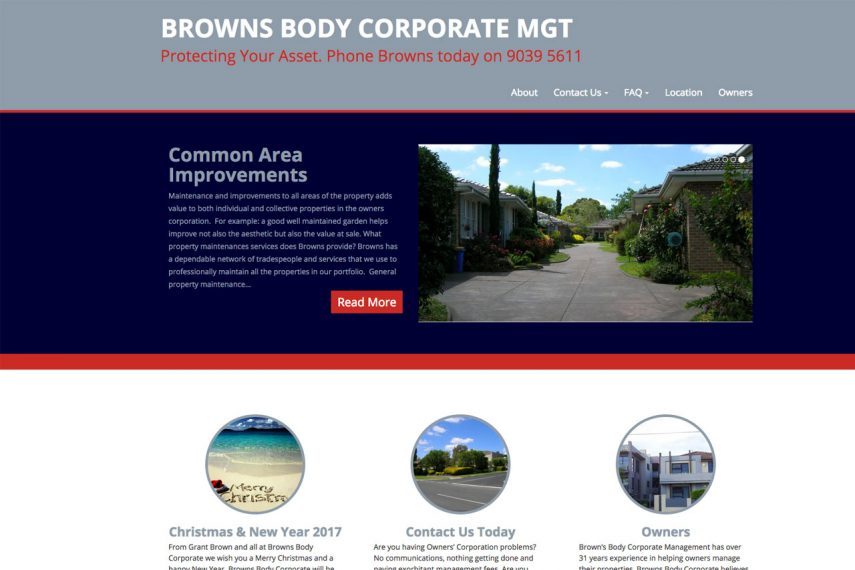 Browns Body Corporate